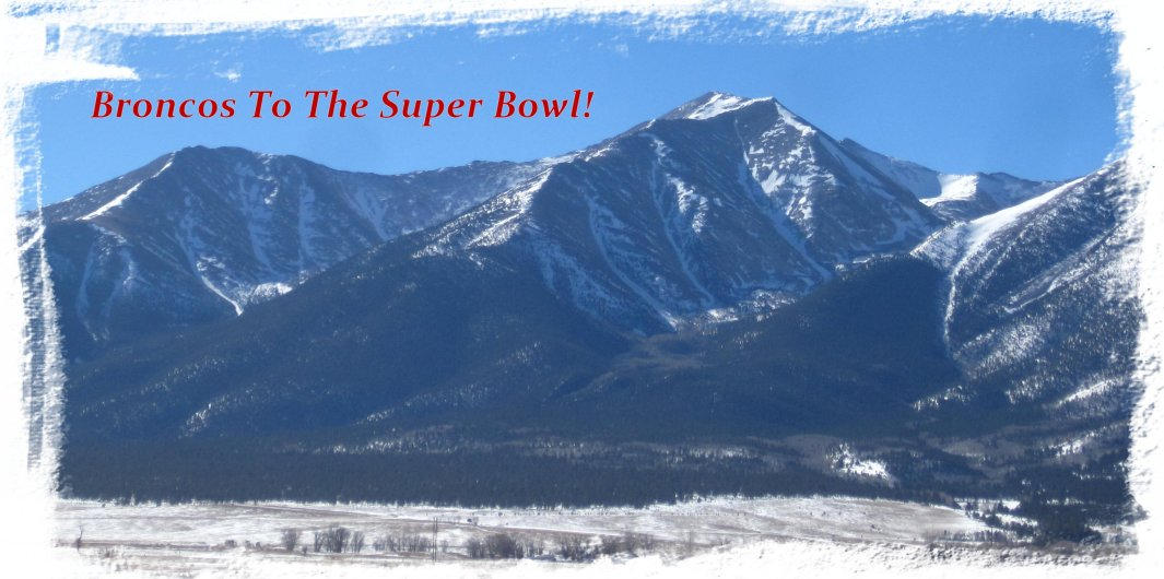 Broncos and Mt. Princeton