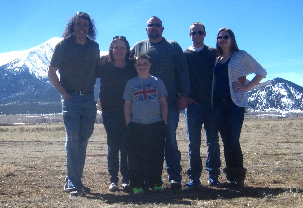Kilby Family Vacation in Colorado