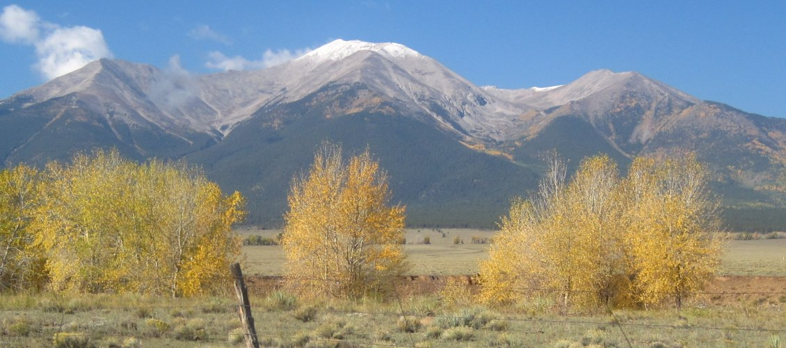 Mount Princeton Fall Season