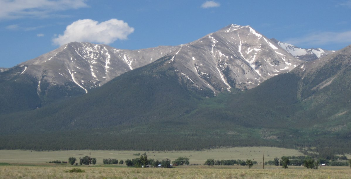 Mount Princeton Colorado