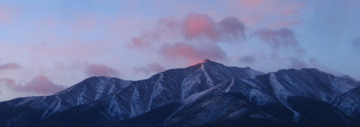 Mt. Princeton at Sunrise